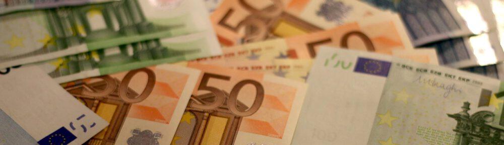 Euro-seteleitä